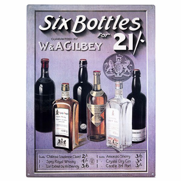 Barskylt Six Bottles