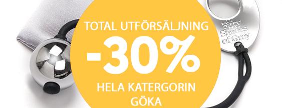 30% på allt